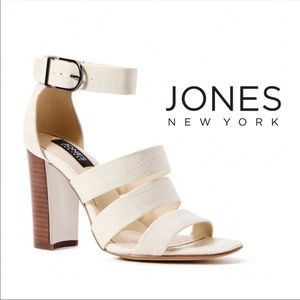 Jones New York Jesse cream heels 9.5